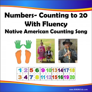 Counting to 20 with fluency