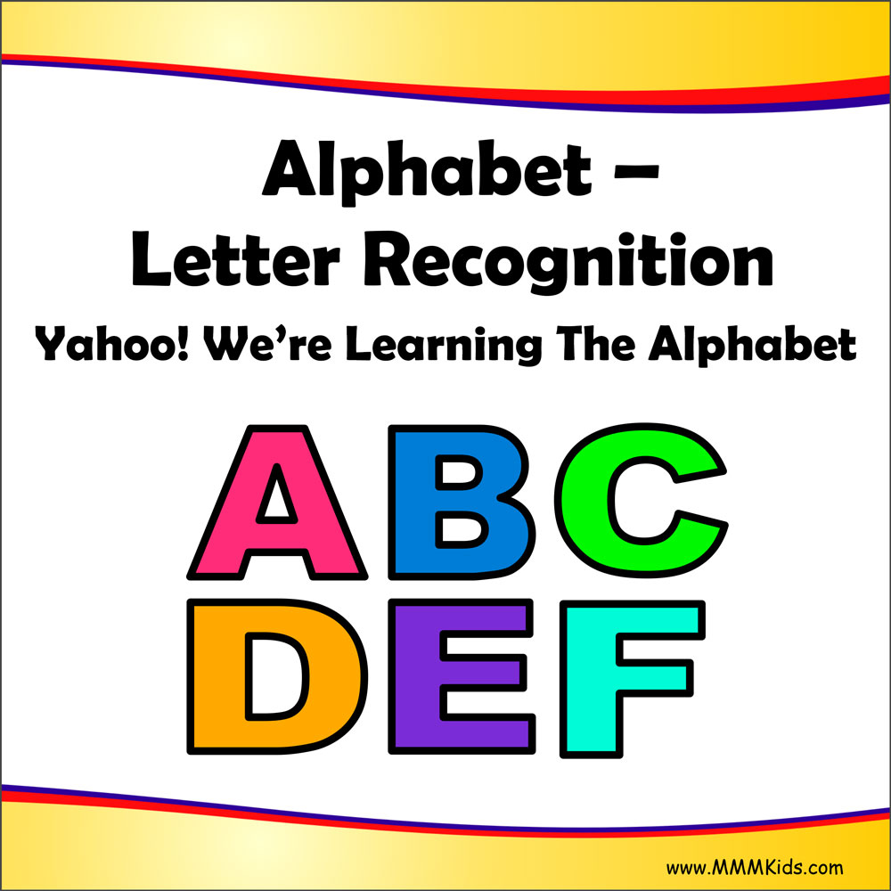 Letter Recognition  Yahoo WeRe Learning The Alphabet