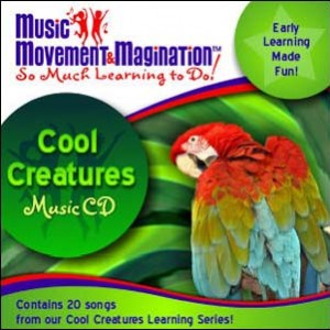 Cool Creatures Music CD