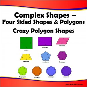Four Sided Shapes & Polygons