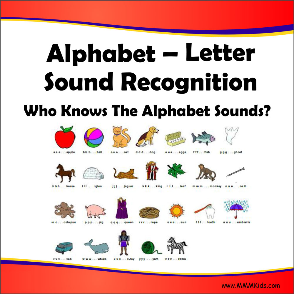 Letter Sound Recognition – Who Knows The Alphabet Sounds