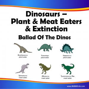 Plant & Meat Eaters & Extinction Lesson