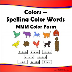 Spelling Color Words