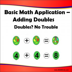 Adding Doubles -- Doubles No Trouble