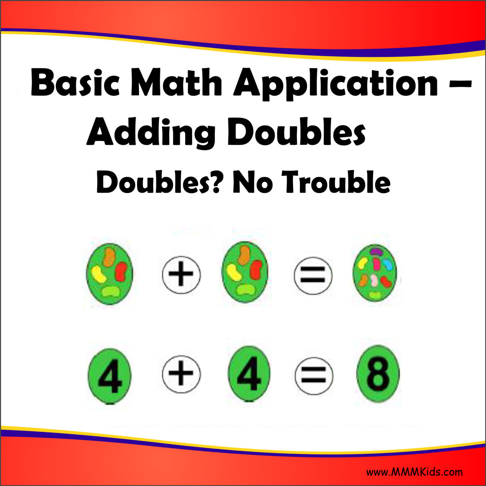 worksheet Adding Doubles adding doubles no trouble