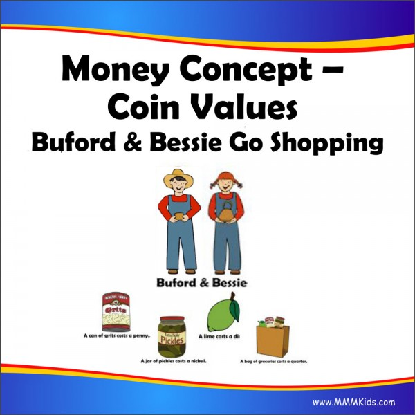 Coin Values -- Buford & Bessie Go Shopping