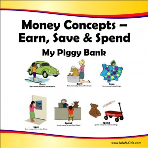 Earn, Save, & Spend -- My Piggy Bank
