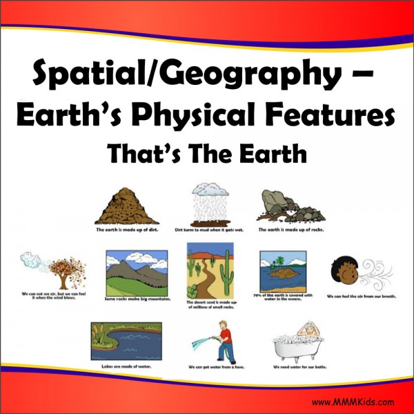 Earth's Physical Features -- That's The Earth