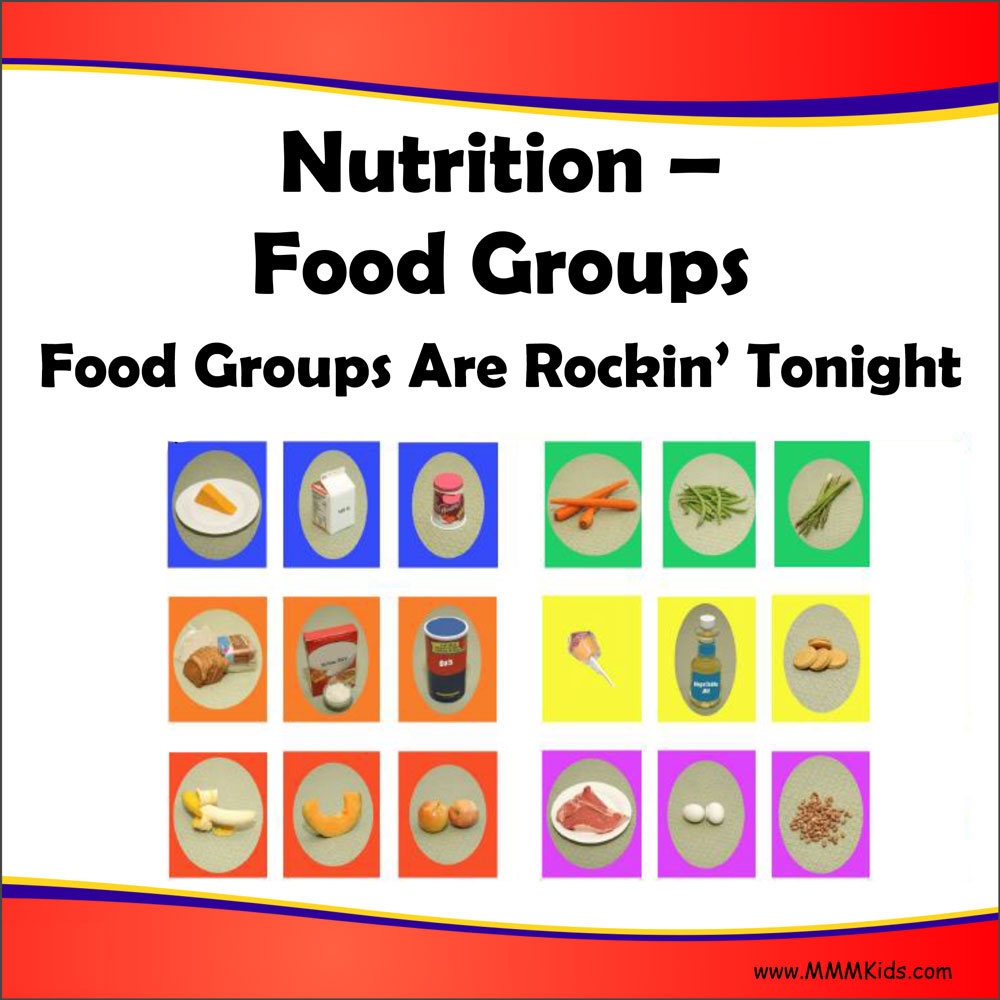 food groups are rockin Beginning with dietary health, a group of students sang and danced to the 'food  group rock' jordan played elvis and led his meat, fish,.