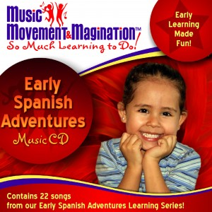 Early Spanish Adventures CD